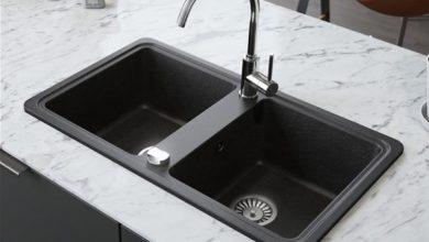 أنواع الأحواض واستخداماتها في المطبخ