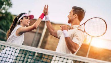 أنواع التمارين في التنس الأرضي