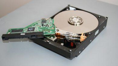 الفرق بين محرك القرص الصلب وذاكرة الوصول العشوائي Hard drive vs RAM
