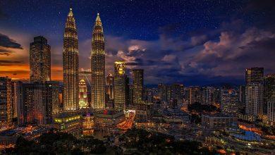 برجا بتروناس التوأم Petronas Twin Towers