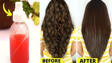 ترطيب الشعر الجاف بوصفة الخمس زيوت في اسبوع