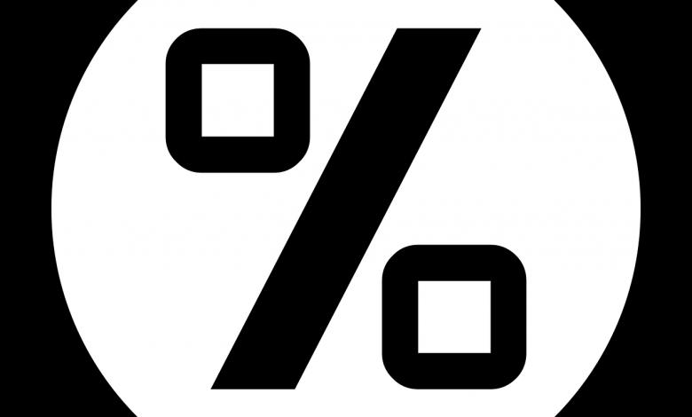 طريقة حساب النسبة المئوية