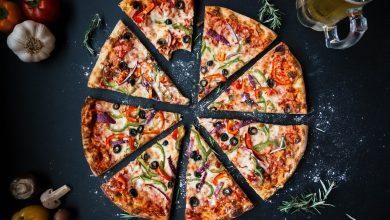 طريقة عمل بيتزا البسطرمة