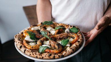 طريقة عمل بيتزا الجمبري