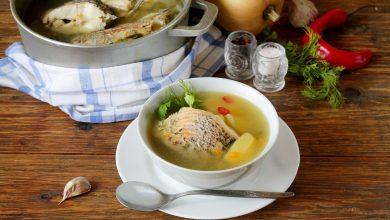طريقة عمل حساء السمك الصيني