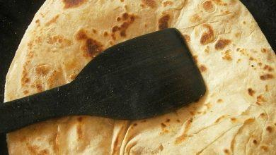 طريقة عمل خبز الشباتي الهندي