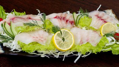 طريقة عمل سلطة سمك البلطي