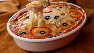 طريقة عمل طاجن المعكرونة بالتونة والطماطم