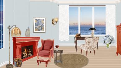 كيف نختار طاولة القهوة للغرف في التصميم الداخلي؟