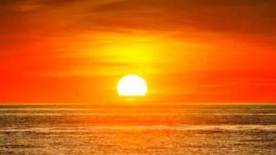 ما هو لون اشعة الشمس