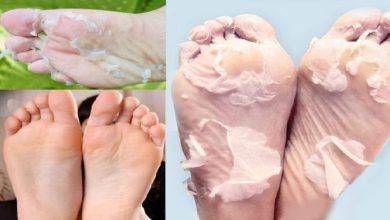 وصفة طبيعية و جد بسيطة لتبييض القدمين دون معاناة