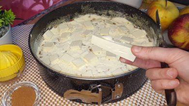 طريقة عمل فطيرة بدون بيض ولا سوائل