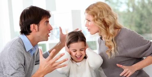 الخلافات الزوجية وأثرها على الأبناء