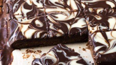 براونيز ماربل بالشوكولاتة البيضاء