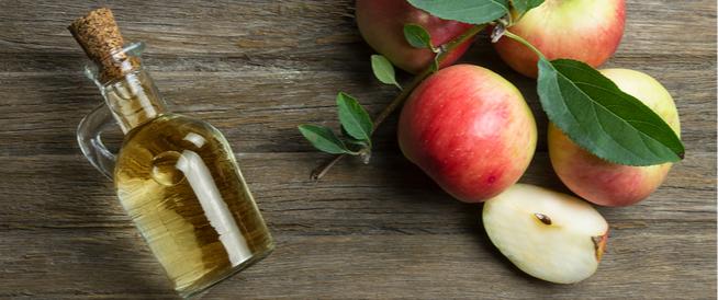 خلطة خل التفاح والشوفان لعلاج سواد الركب
