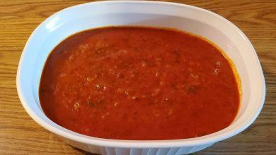 صلصة الطماطم للمكرونة