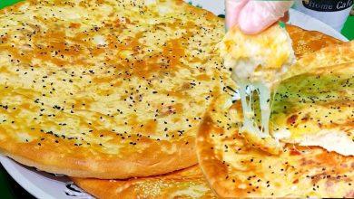 طريقة خبز التميس بالجبن