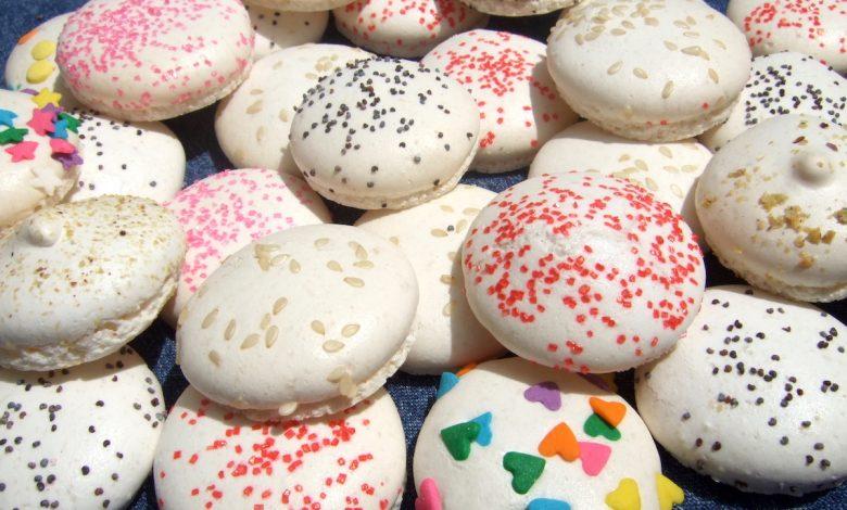 طريقة عمل حلوى الماكرون بالفورماسيل