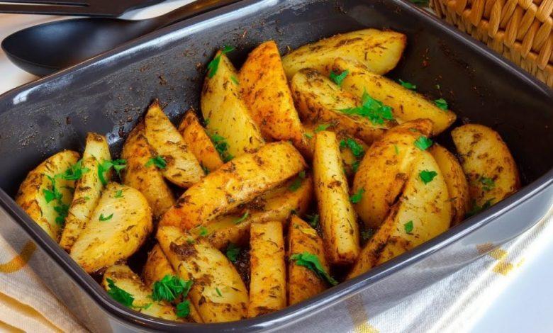 طريقة عمل صينية البطاطس دايت