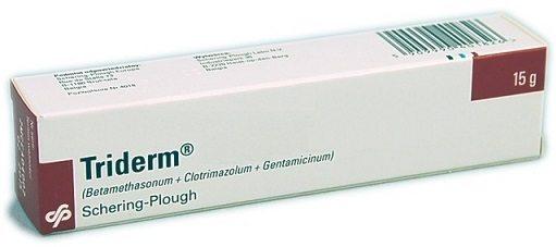 كريم ترايدرم Triderm Cream لعلاج الالتهابات الجلدية والتسلخات