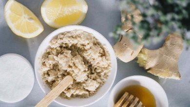 ماسك الليمون والزنجبيل لعلاج قشرة الشعر