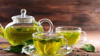 هل الشاي الأخضر يمنع الحم