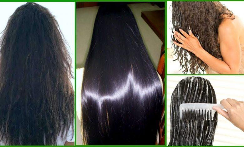 وصفات طبيعية لتنعيم الشعر سريعًا