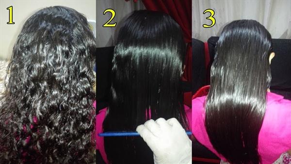 وصفات طبيعية لفرد الشعر بديلة للكرياتين