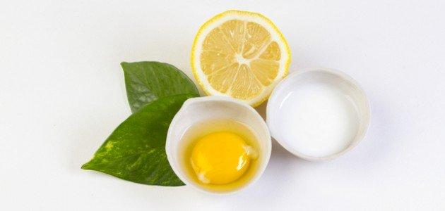 وصفة عصير الليمون الحامض وبياض البيض