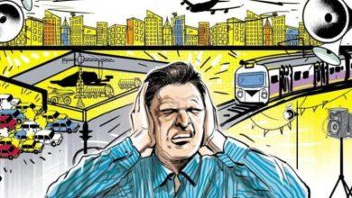التلوث الضوضائي