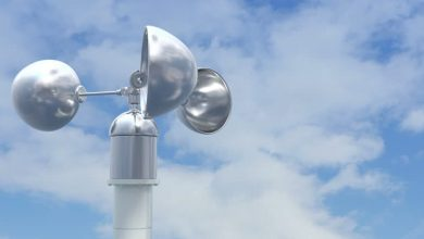 الجهاز الذي يستعمل لقياس سرعة الرياح هو