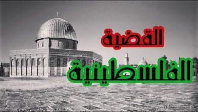 بحث عن القضية الفلسطينية
