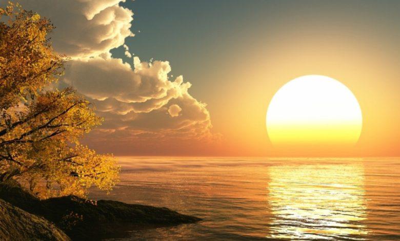 تفسير حلم يوم القيامة وطلوع الشمس من المغرب