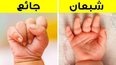 حركات المولود الجديد لا إرادية وعشوائية