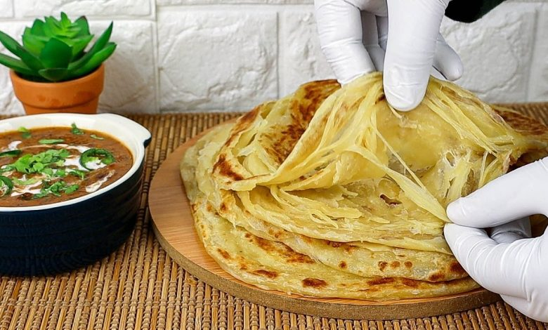 خبز براتا الهندي