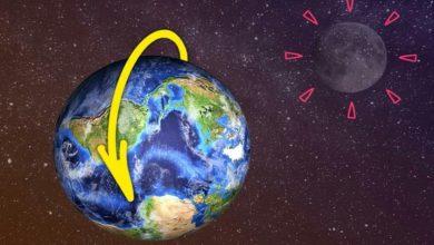 سرعة دوران الأرض