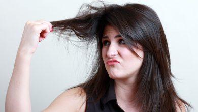 علاج رائحة الشعر الكريهه