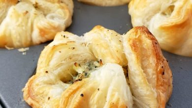 فطيرة السبانخ بالجبن