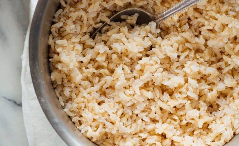 فوائد الأرز البني الصحية