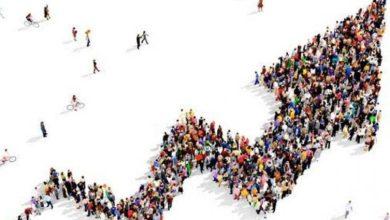 كم يشكل حجم سكان قارة اسيا,