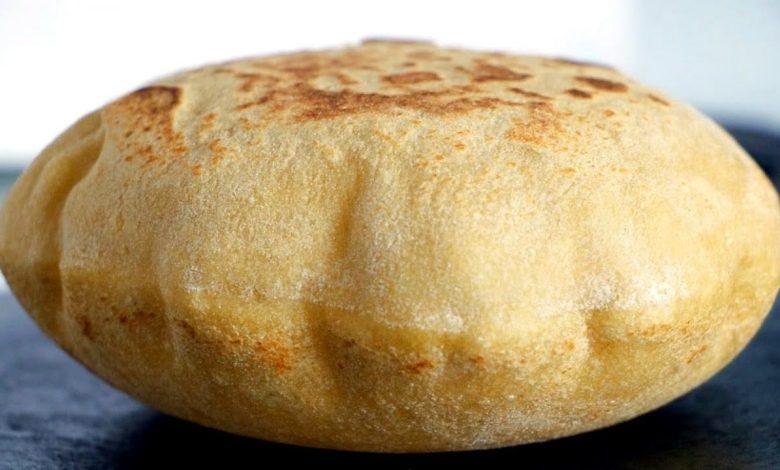 وصفة الخبز البلدي بطريقة سريعة